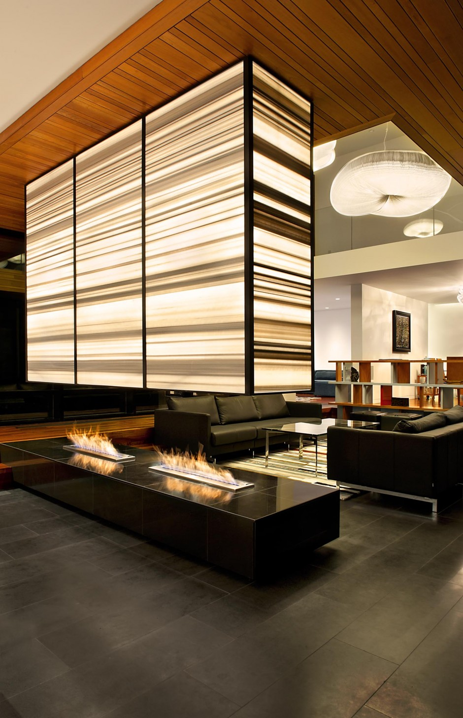 Altius Architecture Luxury fireplace design inspiration