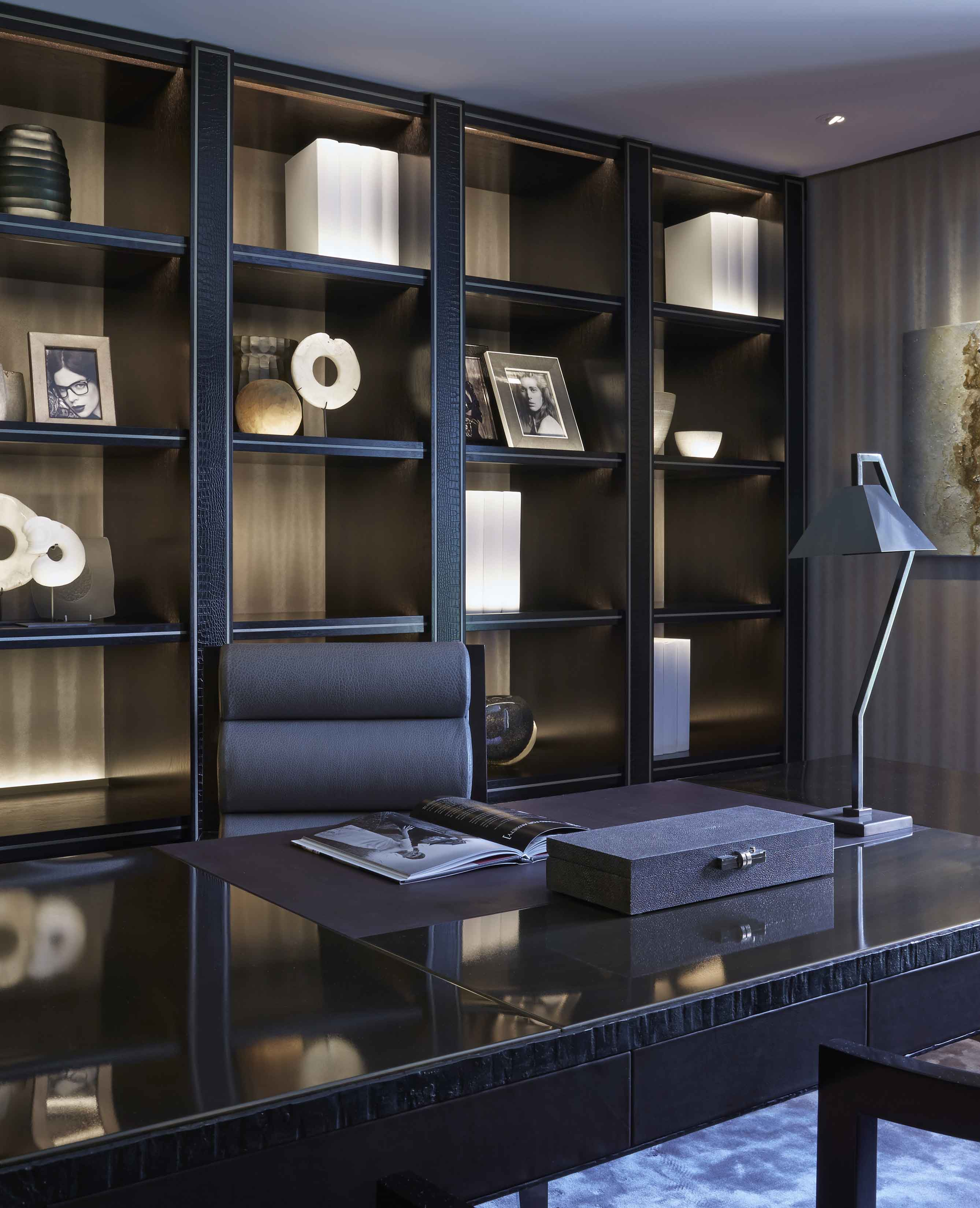 Interior Design Inspiration: Luxury Home Office Design