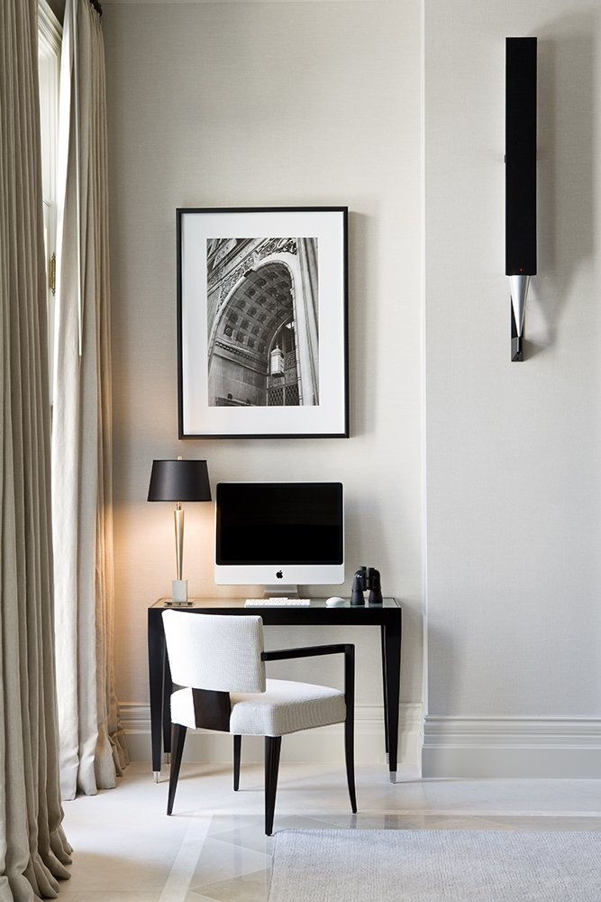 Luxury home office from powell and bonnell