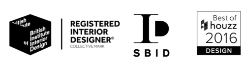 British Institute of Interior Design, Registered Interior Designer, SBID and Best of houzz 2016 awards for Bailey, Award winning design and interior architecture by Bailey Interior Design London